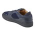 Android Homme Men's Omega Quilted Velvet Low Top Trainers - Navy: Image 4