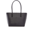 Ted Baker Women's Taleen Curved Bow Small Zip Shopper Bag - Black: Image 5