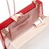 Ted Baker Women's Siann Glitter Word Resin Clutch Bag - Natural: Image 4