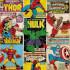 Marvel Avengers Breakout Retro Wallpaper: Image 2