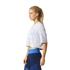 adidas Women's Aeroknit Boxy Crop Top - White: Image 4