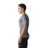adidas Men's TechFit Climachill T-Shirt - Core Heather: Image 4
