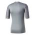 adidas Men's TechFit Climachill T-Shirt - Core Heather: Image 2