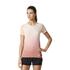 adidas Women's Primeknit Wool Dip-Dye Running T-Shirt - Easy Coral: Image 3