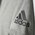adidas Men's Freelift Prime T-Shirt - Core Heather: Image 8