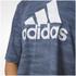 adidas Women's Aeroknit Boxy Crop Top - Blue: Image 8
