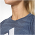 adidas Women's Aeroknit Boxy Crop Top - Blue: Image 7