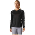 adidas Women's D2M Long Sleeve Top - Black: Image 3