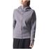 adidas Women's ZNE Hoody - Trace Grey: Image 3