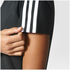 adidas Women's D2M 3 Stripe T-Shirt - Black: Image 7
