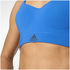 adidas Women's Climachill High Support Sports Bra - Blue: Image 8