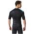 adidas Men's TechFit Base GFX Compression T-Shirt - Black: Image 5