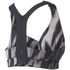 adidas Women's Climachill High Support Sports Bra - Black Print: Image 2