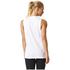 adidas Women's Logo Training Tank Top - White: Image 5