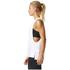adidas Women's Logo Training Tank Top - White: Image 4