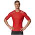 adidas Men's TechFit Climachill T-Shirt - Scarlet: Image 3