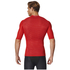 adidas Men's TechFit Climachill T-Shirt - Scarlet: Image 5