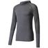 adidas Men's Primeknit Wool Hooded Long Sleeve Running Top - Utility Black: Image 1