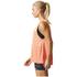 adidas Women's Boxy Melange Tank Top - Glow Orange: Image 4