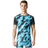 adidas Men's TechFit Climachill GFX T-Shirt - Energy Blue: Image 3