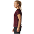 adidas Women's D2M Lose T-Shirts - Maroon: Image 4