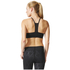 adidas Women's Strappy 3 Stripe Low Support Sports Bra - Black/White: Image 5