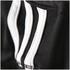 adidas Women's Strappy 3 Stripe Low Support Sports Bra - Black/White: Image 10