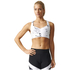 adidas Women's Climachill Marble High Support Sports Bra - White: Image 3
