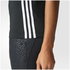 adidas Women's D2M 3 Stripe Tank Top - Black: Image 7