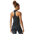 adidas Women's D2M 3 Stripe Tank Top - Black: Image 5