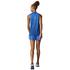 adidas Women's Boxy Melange Tank Top - Blue: Image 3