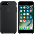 Apple iPhone 7 Plus Silicone Case - Black: Image 1
