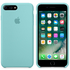 Apple iPhone 7 Plus Silicone Case - Sea Blue: Image 1