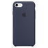 Apple iPhone 7 Silicone Case - Midnight Blue: Image 2
