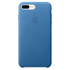 Apple iPhone 7 Plus Leather Case - Sea Blue: Image 2
