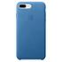 Étui en Cuir pour iPhone 7 Plus -Bleu Mer: Image 2
