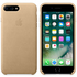 Apple iPhone 7 Plus Leather Case - Tan: Image 1