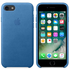Apple iPhone 7 Leather Case - Sea Blue: Image 1