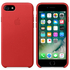 Apple iPhone 7 Leather Case - Red: Image 1