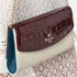 Aspinal of London Women's Eaton Clutch Bag - Bordeux/Ivory/ Peacock: Image 3