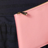 Aspinal of London Women's Essential Pouch Large - Blossom/ Pink Metallic: Image 3