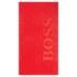 Hugo BOSS Carved Beach Towel - Red Flag: Image 1