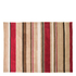 Flair Infinite Inspire Rug - Broad Stripe Choc/Red: Image 2