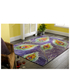 Flair New Jersey Rug - Print Peacock Chenille Multi: Image 1