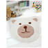Flair Nursery Teddy Bear Rug - Natural (75X80): Image 1