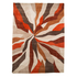 Flair Infinite Splinter Rug - Orange (200X290): Image 2