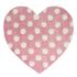 Flair Kiddy Play Rug - Polka Heart Pastel Pink(90X90): Image 2