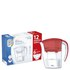 12 Month Bundle - Aqua Optima Galia Jug Plus 6 Cartridges 2.25L - Red: Image 2