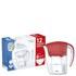Aqua Optima 2.25L Red Galia Water Filter Jug with 6 x 60 Day Evolve Filter Cartridges (12 Month Bundle): Image 2