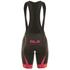 Alé Women's Graphics PRR Bermuda Bib Shorts - Black/Pink: Image 3